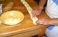 Empanadas making in Argentina