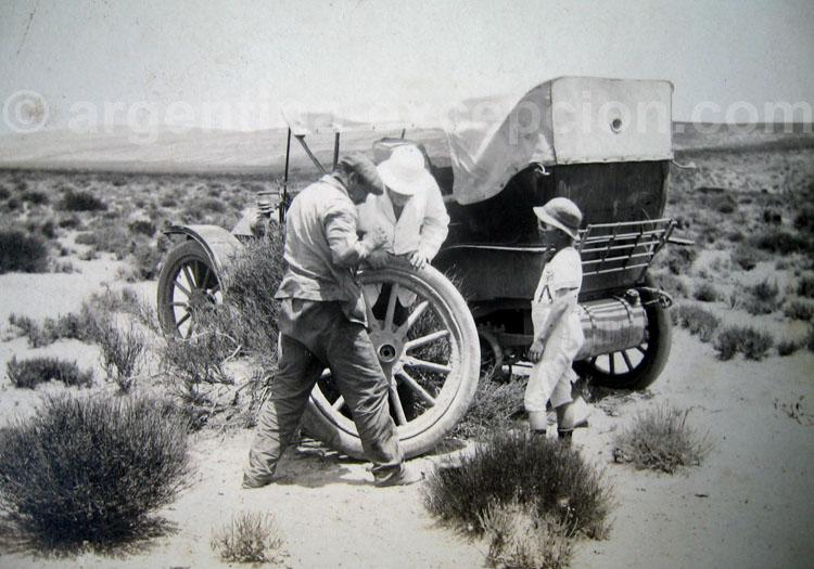 Des migrants en Argentine, début XIXe siècle