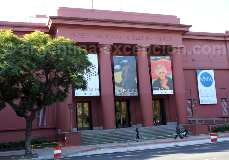 Musée National des Beaux-Arts, Recoleta