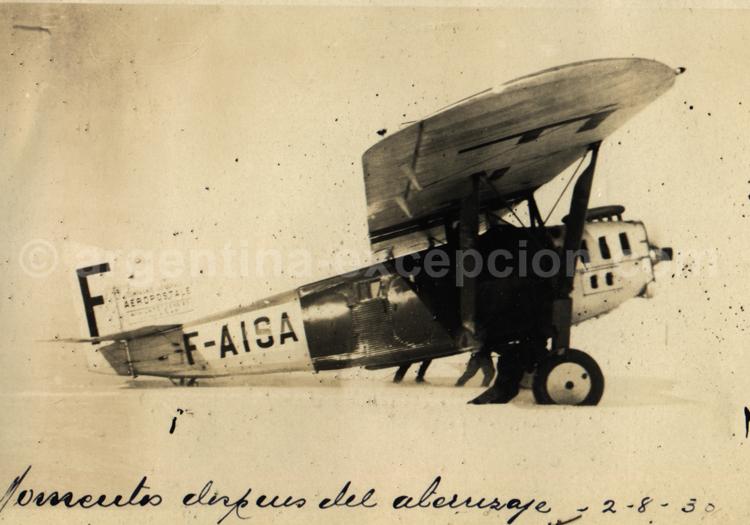 La neige en Patagonie. Archive Gilbert Pellaton