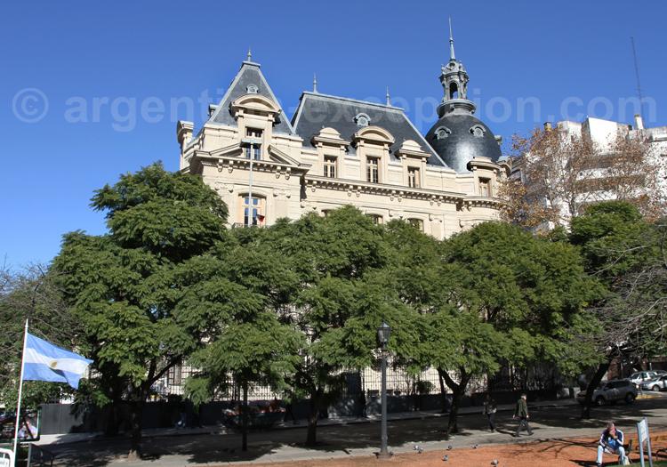 Palais Ortiz Basualdo, ambassade de France