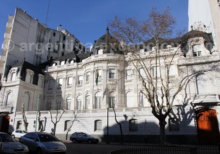 Palais Pereda, ambassade du Brésil