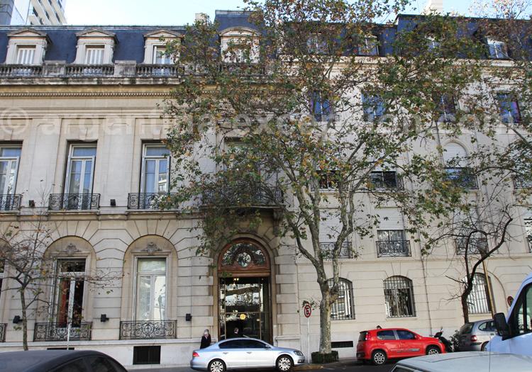 Palais Unzué Casares, actuel Josckey Club