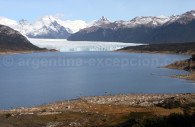 Lago argentino in Los Glaciares park