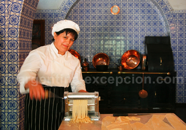 Pâtes en Argentine