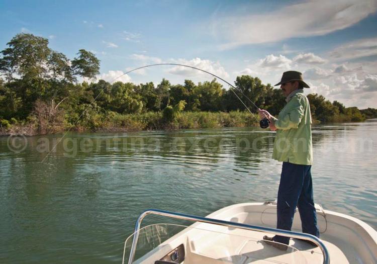Pêche au Alto Parana lodge