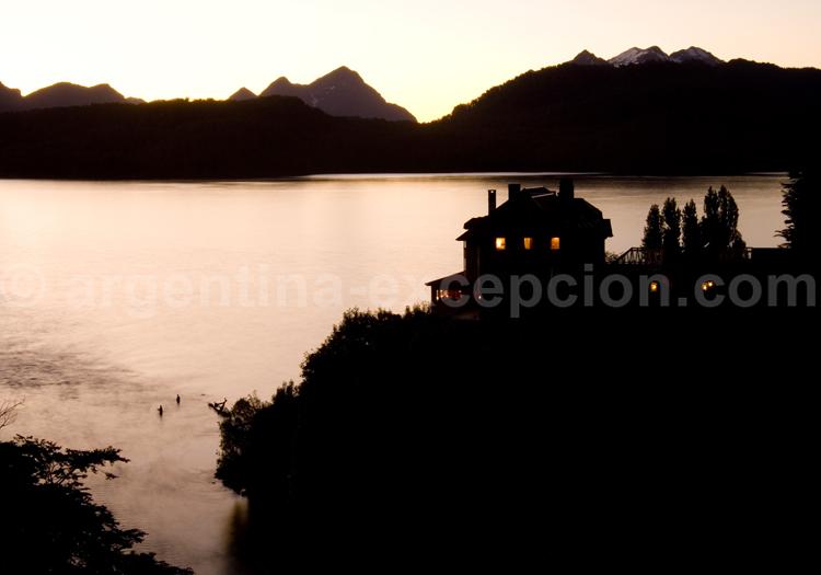 Pêche sur le lac Correntoso
