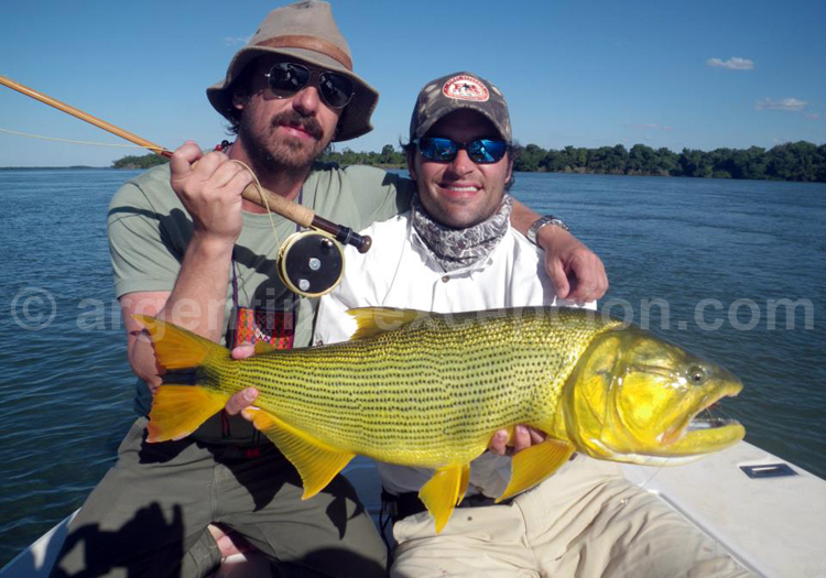 Séjour de pêche, río Paraná