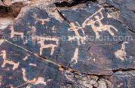 Pétroglyphe de Sapagua Quebrada Humahuaca
