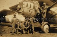 The Aeroposta pilots - Archive G. Pellaton