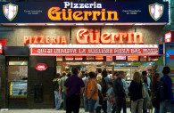 The famous Pizzeria Güerrin, Buenos Aires