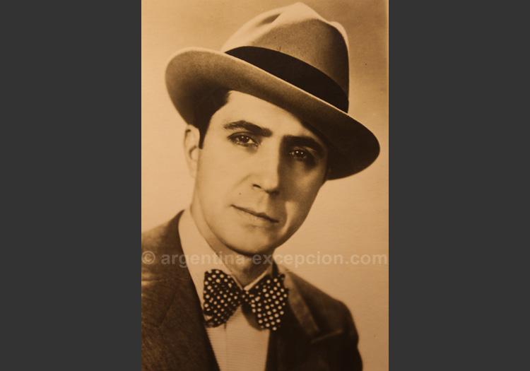 Portrait de Carlos Gardel - musée C.Gardel, Abasto