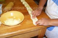 preparation empanadas