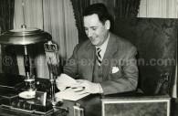 Le Président argentin Juan Perón