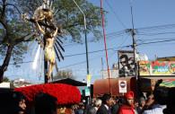 Vierge du rosaire et crucifix, Salta
