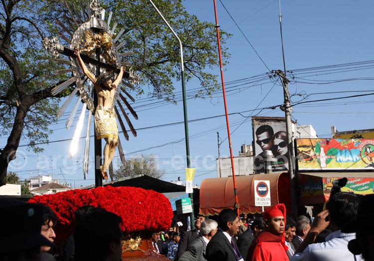 Procession au pèlerinage de Salta