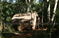 Pueblo guarani en Puerto Iguazu