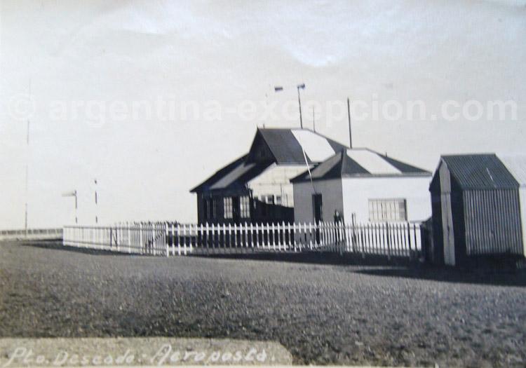 Puerto Deseado. Instalations Aeropostale 1930