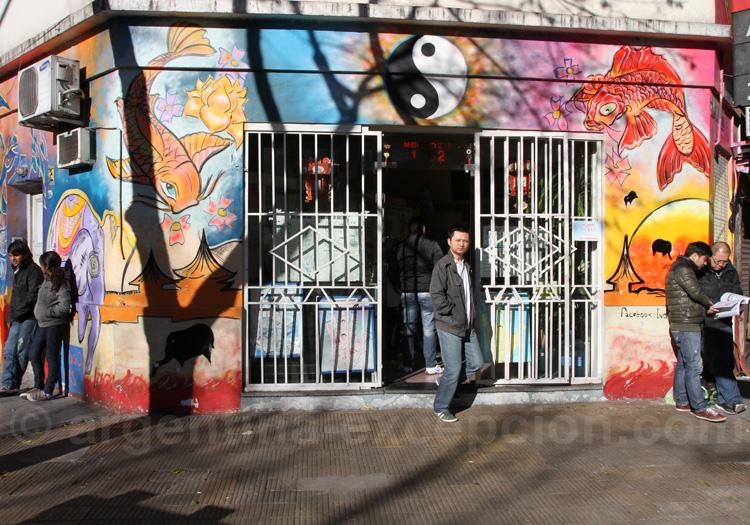 Quartier chinois de Buenos Aires
