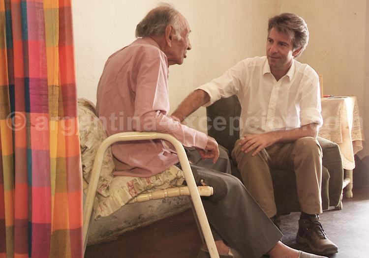 Rencontre entre Juan Gomez et Alain d'Etigny
