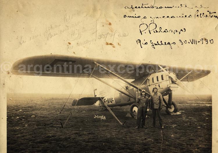 Rio Gallegos 1930. Archive Gilbert Pellaton