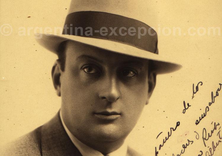 Rufino Cambaceres. Archive Gilbert Pellaton