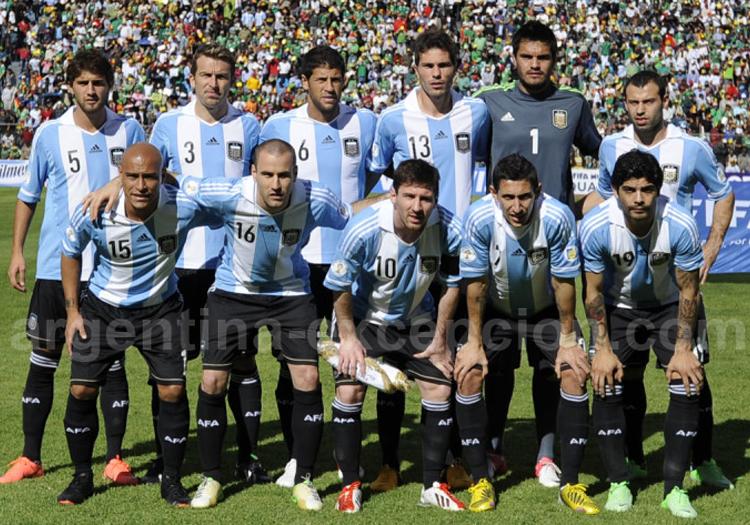 La sélection argentine