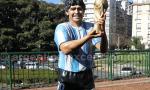 Statue de Diego Maradona, Buenos Aires