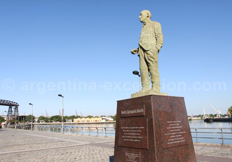 Statue de Quinquela Martín, La Boca