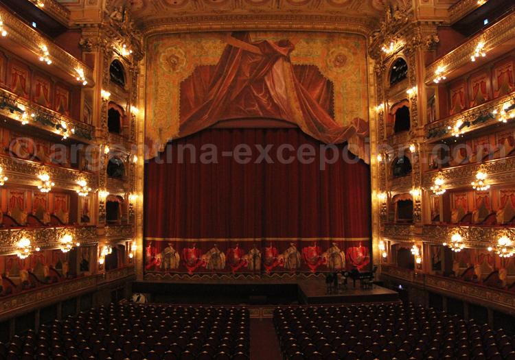 Scène du théâtre Colón