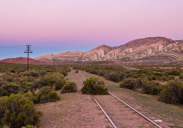 Réseau ferroviaire du Noroeste argentin.