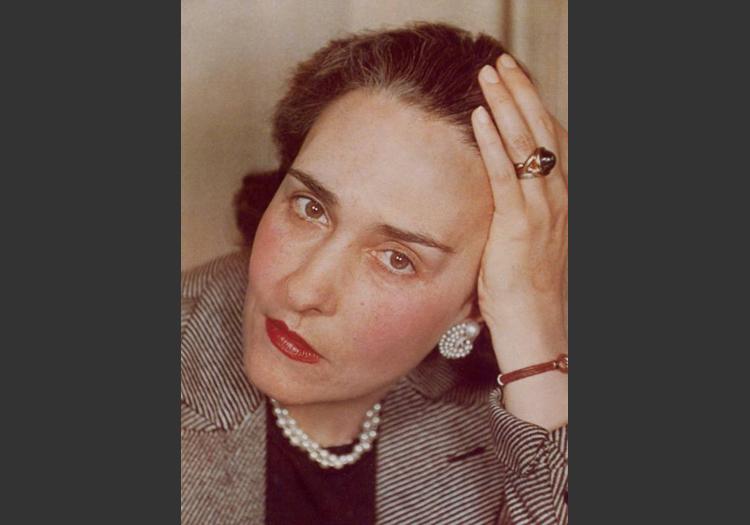 L'écrivaine Victoria Ocampo
