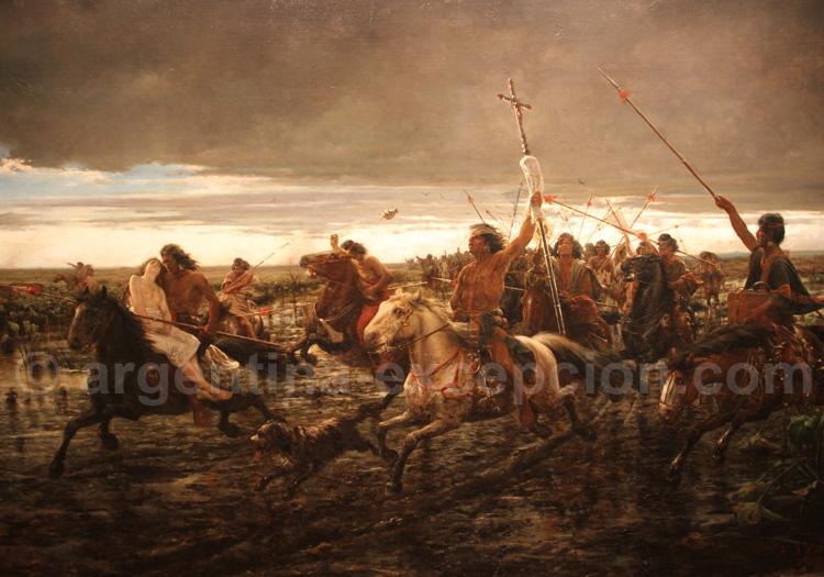 La vuelta del malón 1892, Ángel Della Valle, musée des Beaux Arts, Buenos Aires