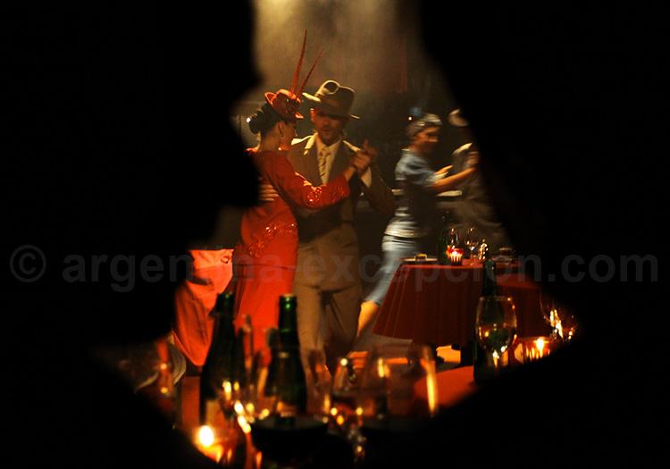 Dîner show tango, Rojo Tango