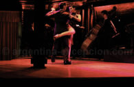 Tango show in Querandi