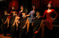 show tango rojo