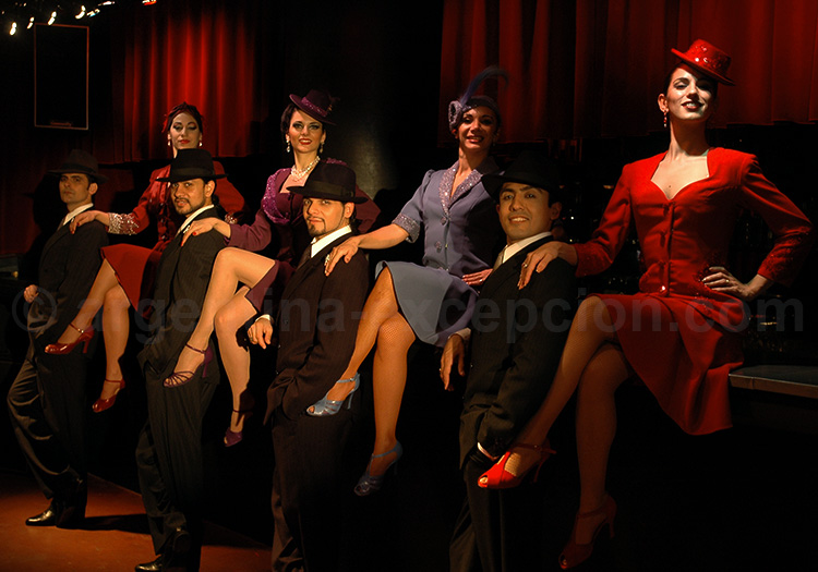 Show tango, Rojo Tango
