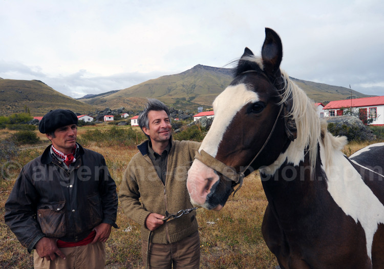 Alain d'Etigny, Patagonie