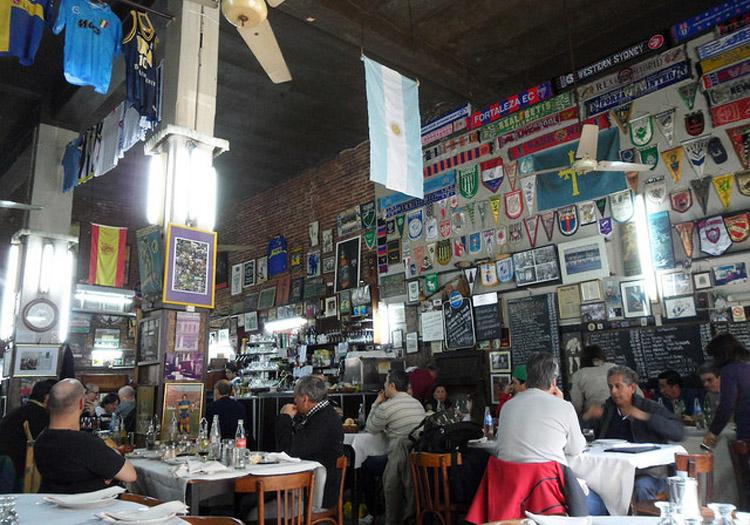 Restaurant El Obrero, La Boca