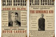 Cartel de busca de Cassidy y Sundance