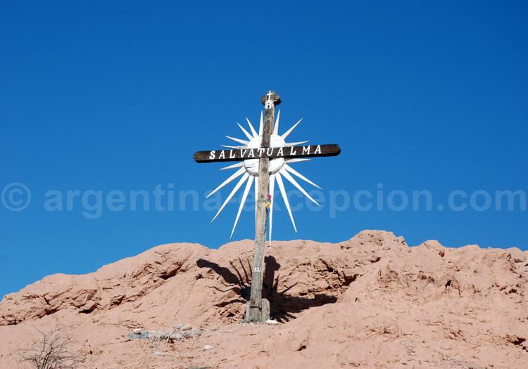 Calvaire dans la puna argentine