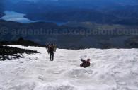 Bajada del Cerro Tronador