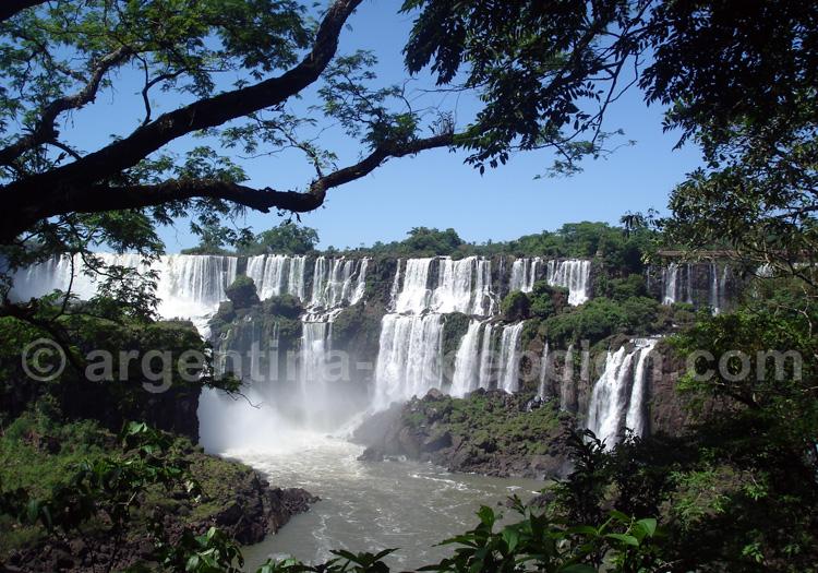 Visite du parc national Iguaçu avec une pleine lune