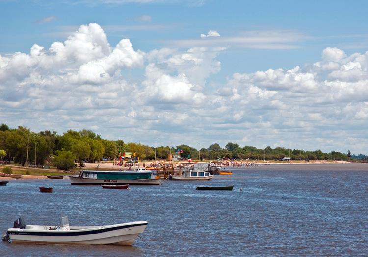 Balade à Colón, rive du fleuve Uruguay