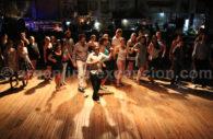 Tango class in La Catedral