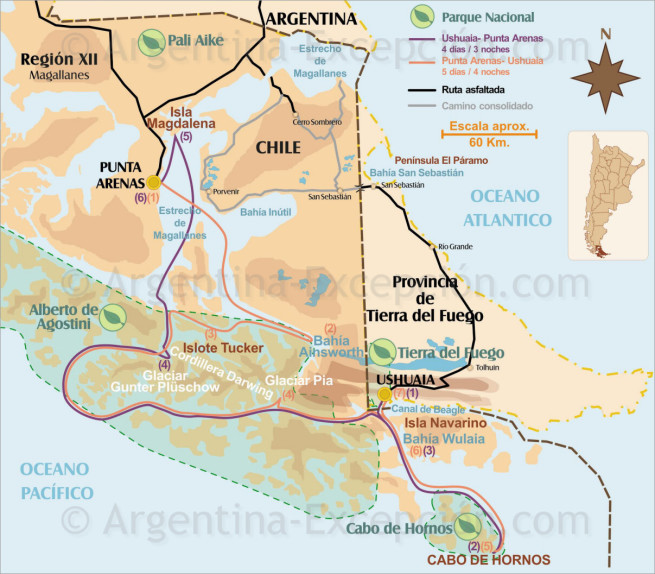 Cruceros Patagonia