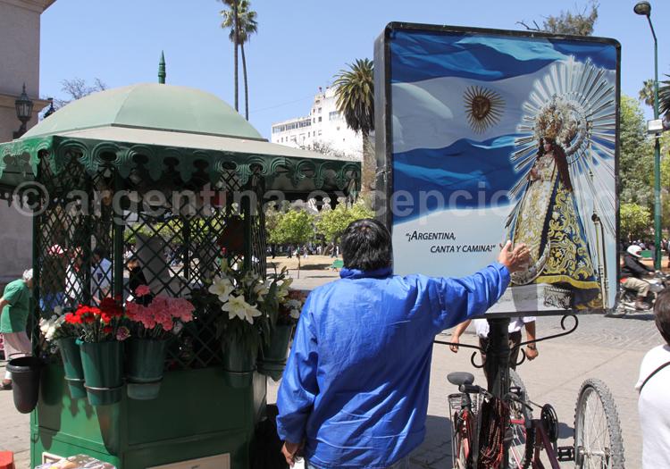 Culte à la Vierge Marie, Salta