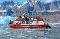 Nautical excursion, lake and glaciar Grey