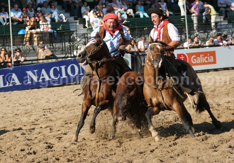 Feria nuestros caballos Argentine avec Argentina Excepción