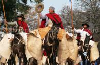 Show of gauchos in Salta